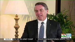 EXCLUSIVE: DD India interviews Brazilian President Jair Bolsonaro