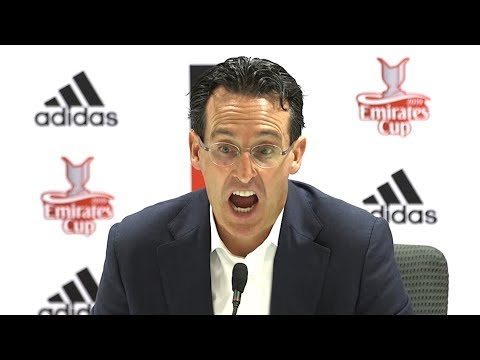 Arsenal 1-2 Lyon - Unai Emery Post Match Press Conference - Emirates Cup 2019