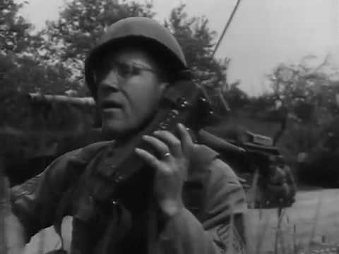 Soldier in Europe 1953 US Army  The Big Picture  7th Army Training in Germany