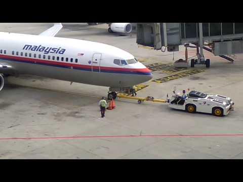 MH 192 Pushback at KLIA