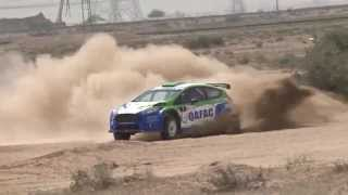Abdulla Al KUWARI In Kuwait Rally 2014