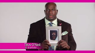 Titus O'Neil remembers his grandmother in honor of Breast Cancer Awareness Month