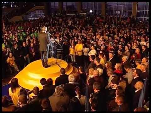 Boris Tadić, obraćanje predsednika na skupu ''Evropski korak -- dobro za sve''