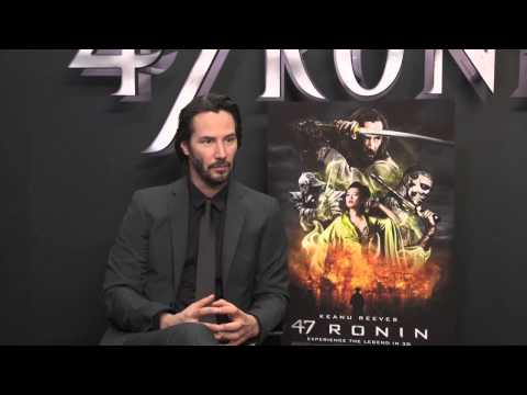 Keanu Reeves Talks About 47 Ronin pt 2