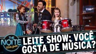 Leite Show: As crianças falam sobre música | The Noite (04/09/17)