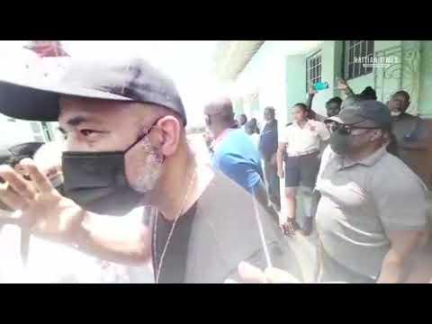 Haïti ex-president Michel Martelly visits Les Cayes