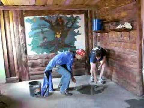 Como pintar el suelo youtube - Pintar el piso ...