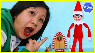 Elf on the Shelf IS BACK! Ryan's Mommy gets PRANKED by ELF on the SHELF!!!