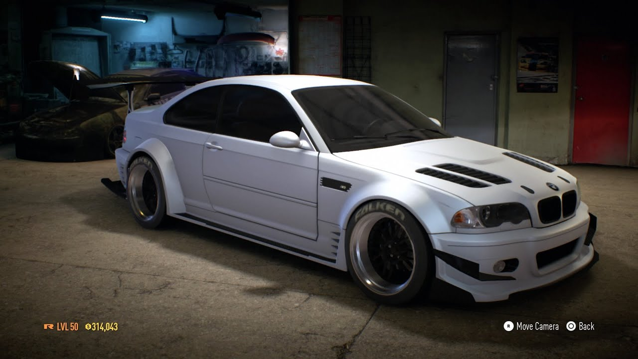 Need For Speed 2015  BMW M3 E46 Customization 1100 HP  YouTube