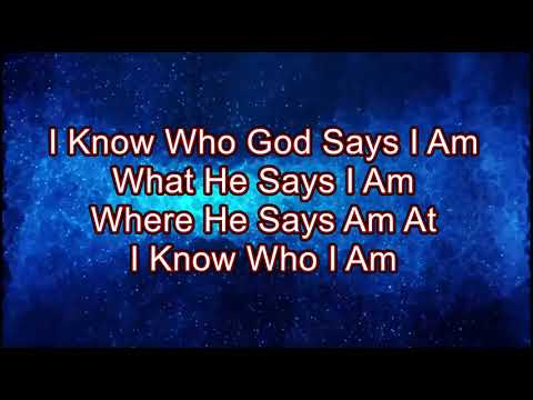 I Know Who I Am By Sinach