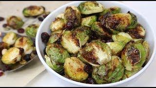 Roasted Brussel Sprouts Recipe- Bắp Cải Tí Hon Nướng