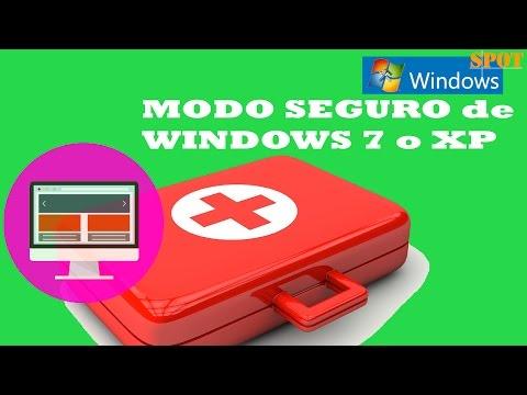 Iniciar Windows 7 o XP en modo seguro o a prueba de fallos