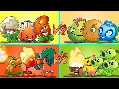 Plants Vs Zombies 2 Convinacion Duelo De 4 Equipos Aleatorios