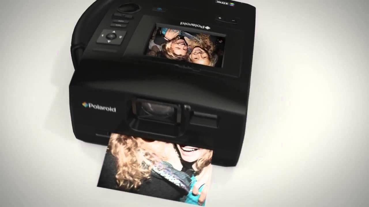 Polaroid Z340 Instant Digital Camera - YouTube
