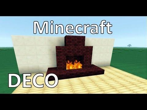 Minecraft : Créer Une Belle Cheminée