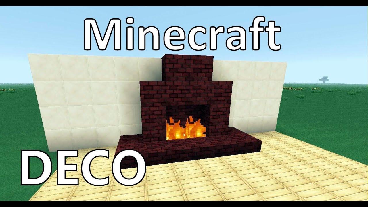 Minecraft cr er une belle chemin e youtube - Comment degoudronner une cheminee ...