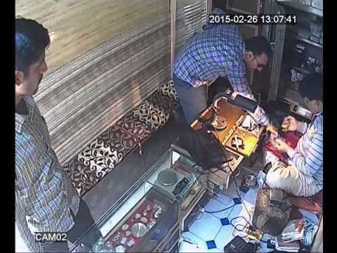 Expert thief's stolen gold from my jewellery shop