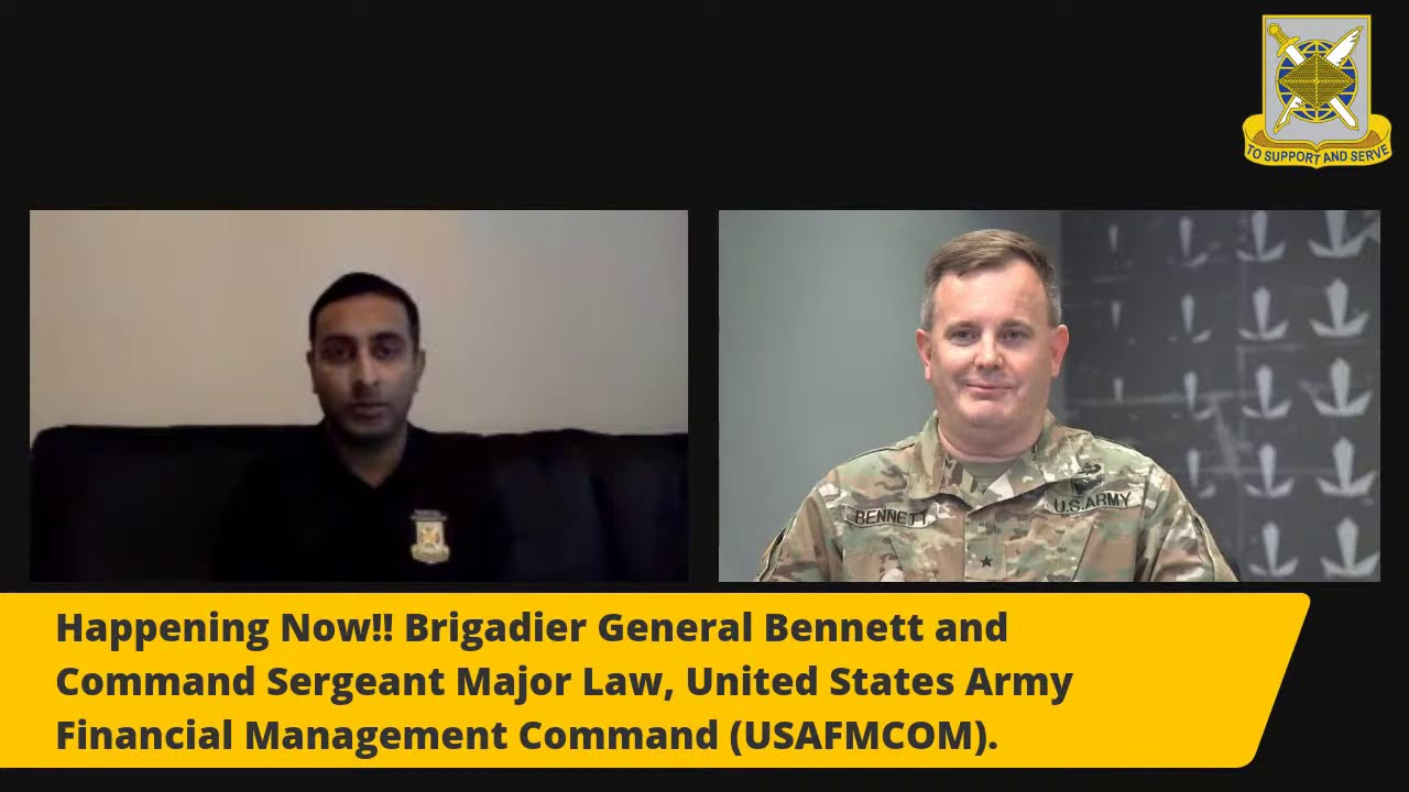 Army Financial Management & Comptroller