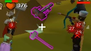THESE 2 WEAPONS ARE SUPER STRONG TOGETHER! - 60 Attack Zerker Pking [OSRS]