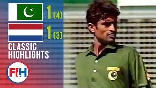 INCREDIBLE MATCH! Pakistan v Netherlands | 1994 World Cup Final
