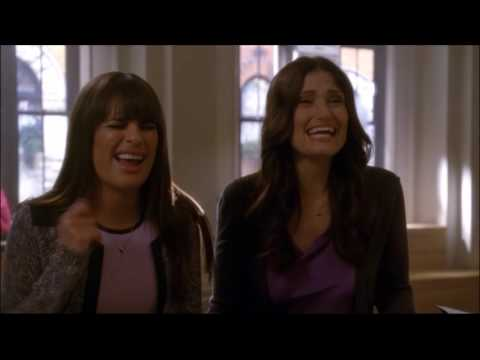 Glee - Shelby talks to Rachel about her funny girl audition 4x19