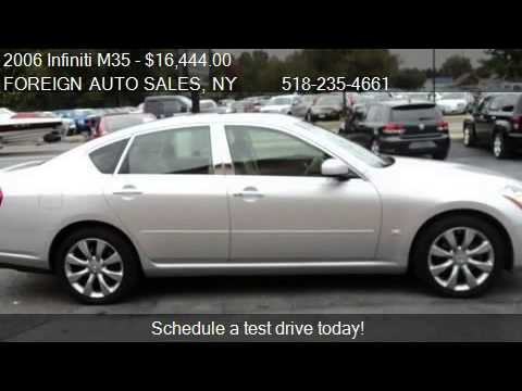2006 Infiniti M35 Navigationdvd For Sale In Troy Ny 1218 Youtube