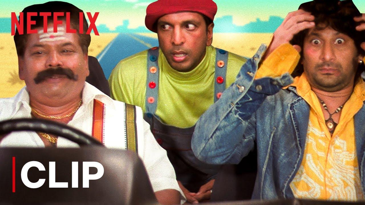 Dhamaal Funny Scene | Mr. Iyer Drops Javed Jaffrey & Arshad Warsi | Netflix India