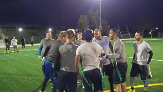 Alameda Flag Football League  Championship Game Spring 2018 Season 1