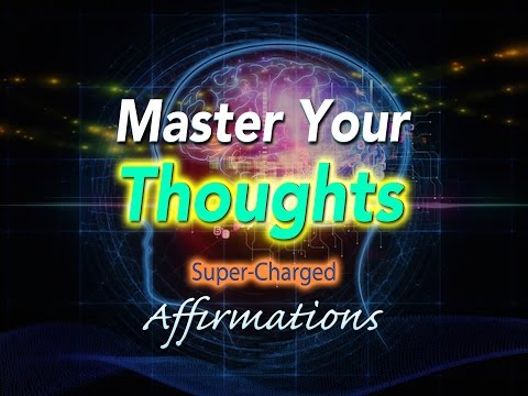Master Your Thoughts - Positivity - Glass Half Full Kinda Person - Super-Charged Affirmations