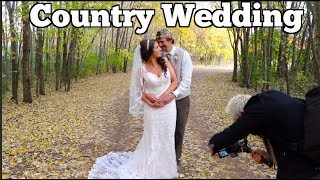 Outdoor Wedding - Ariel and Jake's country wedding -Dirtmonkey Style