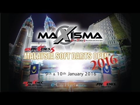 MAXISMA 2016 - MALAYSIA SOFT DARTS OPEN