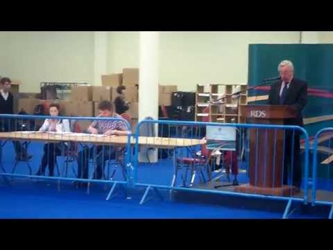 NUI Seanad Eireann Election Count Centre, RDS, Dublin.