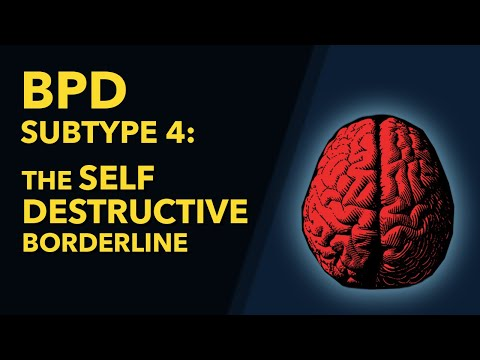 Self-Destructive Behavior and Borderline Personality Disorder