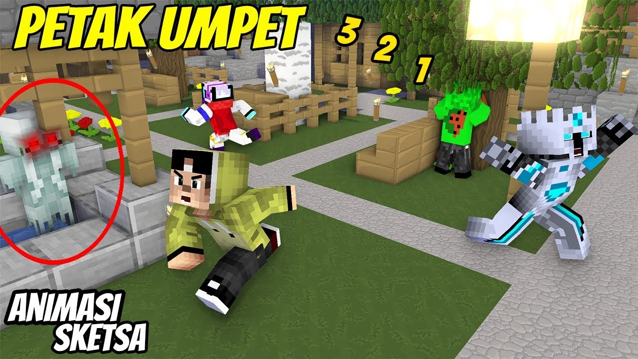 Download Lucu - Erpan main misteri petak umpet ( Animasi Minecraft Indonesia )