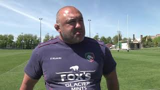 Boris Stankovich speaks to LTTV at the club's Oval Park training gr...