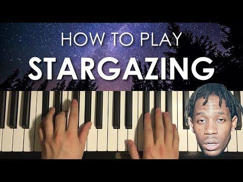 How To Play - Travis Scott - STARGAZING (PIANO TUTORIAL LESSON)