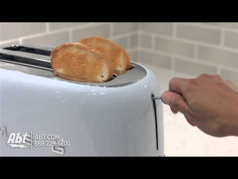 Smeg 50s Retro Style Aesthetic 4 Slice Toaster TSF02 - Overview