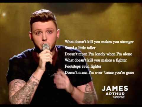 James Arthur -Stronger Live X Factor (Audio & Lyrics)