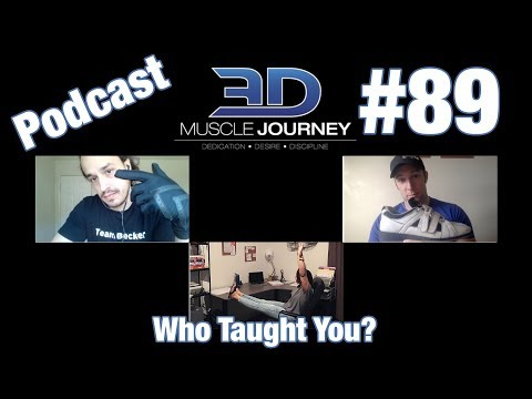 3DMJ Podcast #89: Who Taught You?