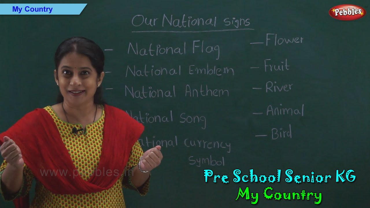 My Country | India Is My Country | National Signs & Symbols of India ...