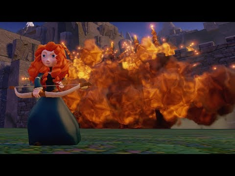 Disney Infinity - How To Blow Up A Castle Wall