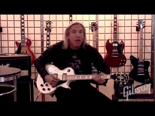 Joe Walsh Les Paul Set Up Full video
