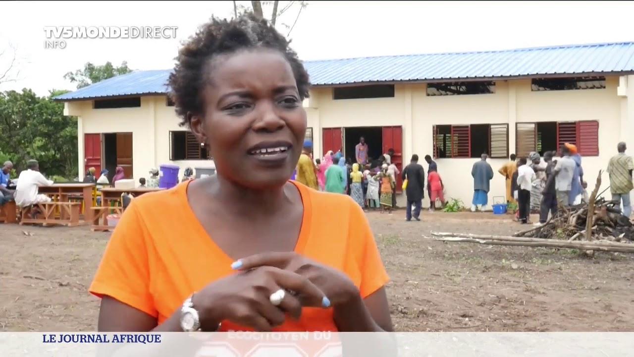 Bénin : un village construit une école en 48 jours