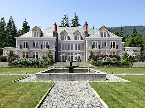 Dream homes gibsons english manor youtube for Manors for sale in usa