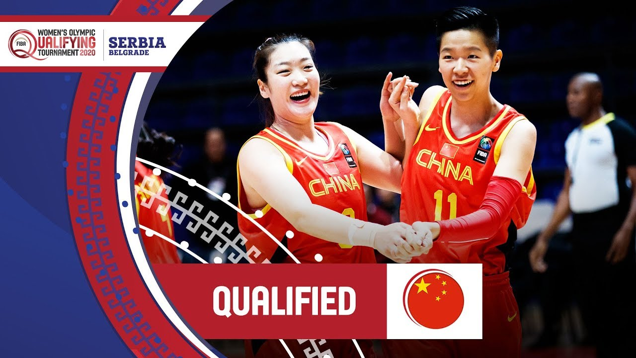 China qualify for the Tokyo 2020 Olympics