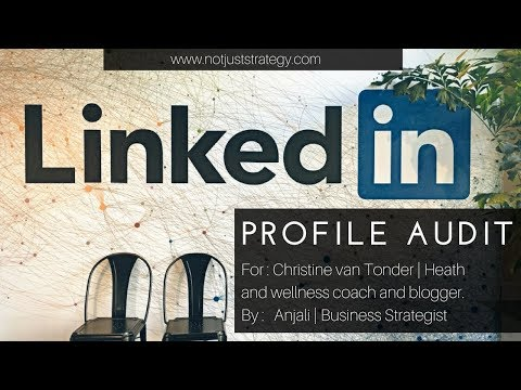 LinkedIn Profile Audit - Christine van Tonder