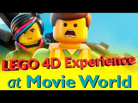 LEGO Movie 4D Experience FULL REVIEW | Movie World Gold Coast