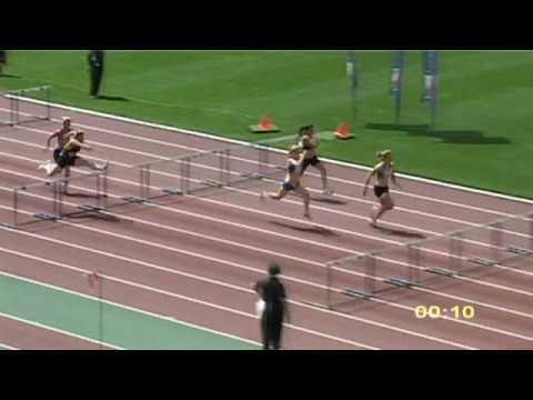 2009 Vic Open Women 100m Hurdles
