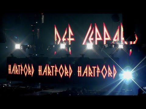 Def Leppard 5/21/18 - 1: Intro/Rocket - Hartford, CT - Tour Opener