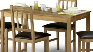 Coxmoor Oak 118cm Dining Table With 4 Chairs Movie